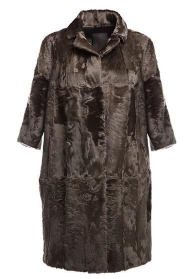 LISKA karakul lamb fur coat $4,329 FARFETCH.COM