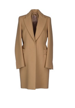 N° 21 Coat $966 YOOX.COM Composition: 60% Virgin Wool, 40% Cashmere. Details: flannel, solid color, darts, no appliqués, lapel